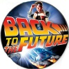 Taburete Retro Arcade Back to the Future